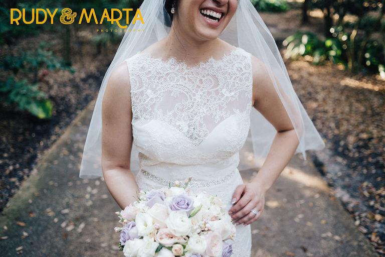 ivory & blush wedding