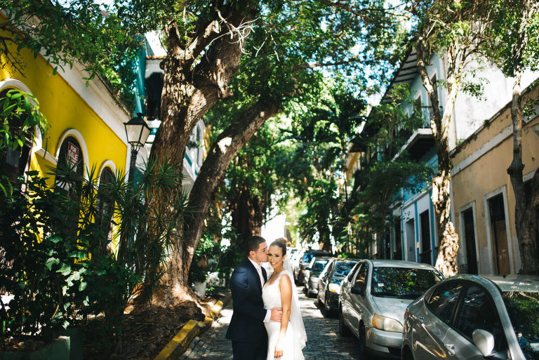old san juan wedding