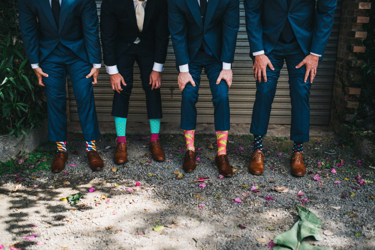 hacienda alegre groom socks