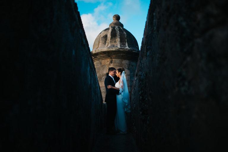epic el morro wedding photograph