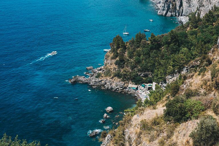 positano italy coast