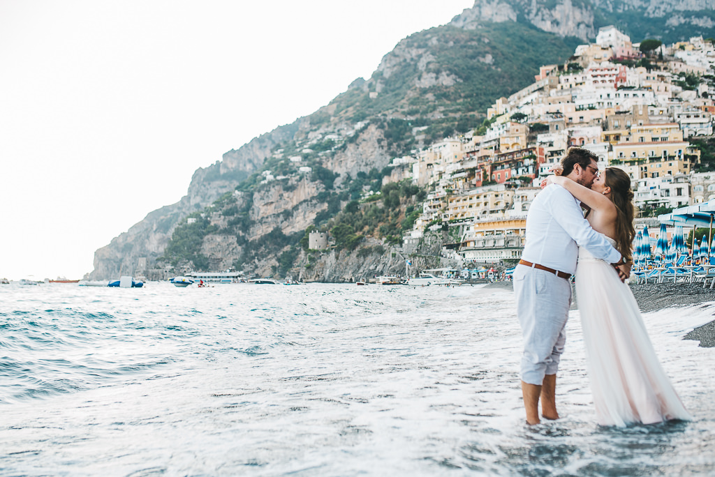 Romantic Nuptials In Positano Italy Destination Elopement - 8 romantic places to visit on your honeymoon in italy