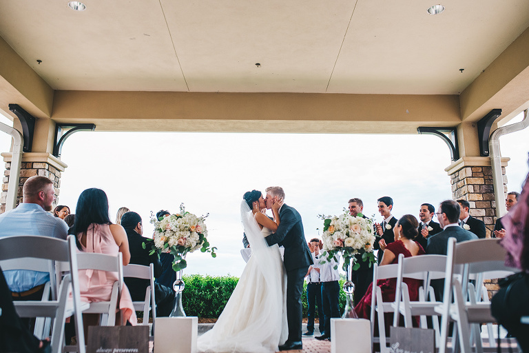 plan b at eagle creek country club wedding after a rainy day