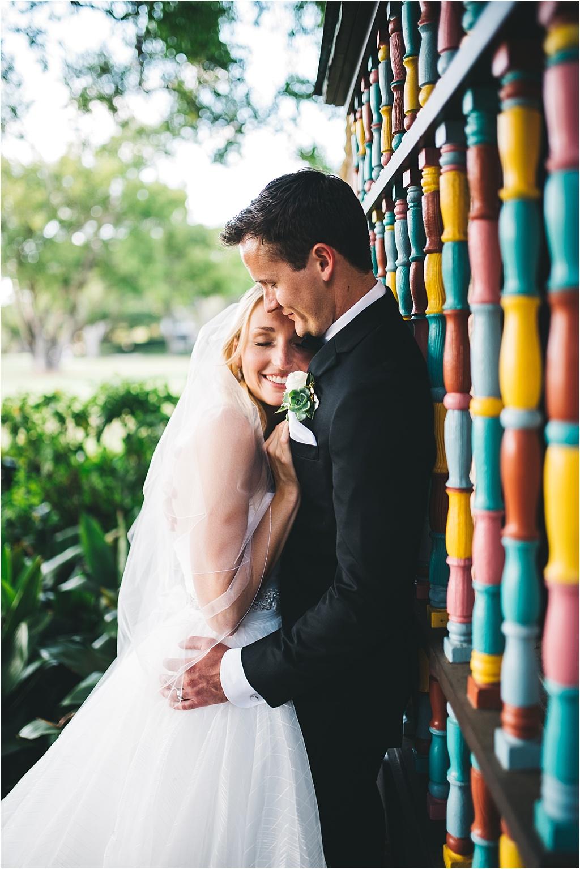 cute wedding portrait at casa feliz