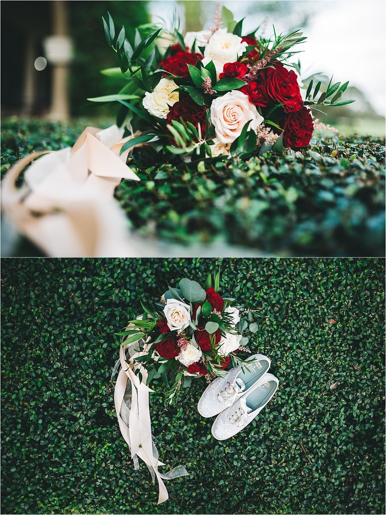flowers by lesley wedding bouquet