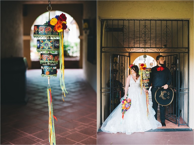 Day Of The Dead Wedding Inspiration At Plaza De La Fontana