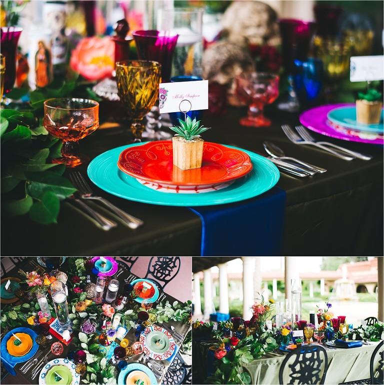 Dia De Los Muertos Wedding Theme Ideas: Day Of The Dead Wedding Inspiration At Plaza De La Fontana
