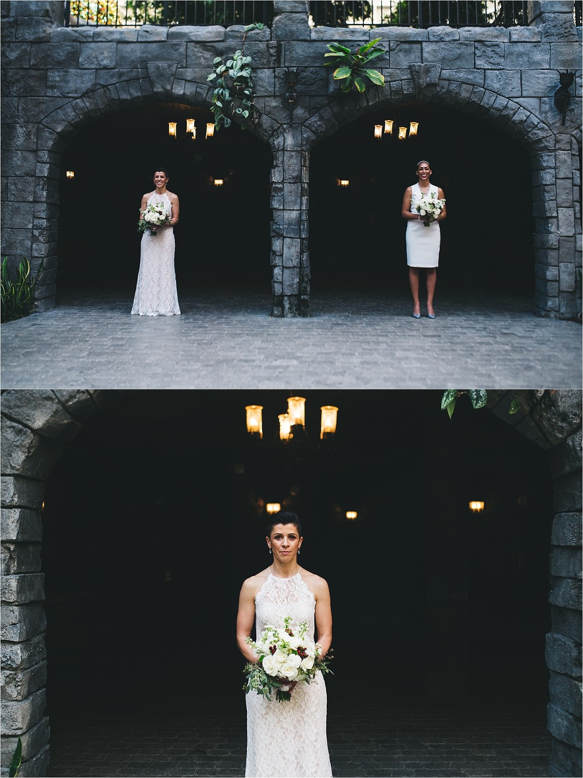 creative wedding portraits at gaylord palms