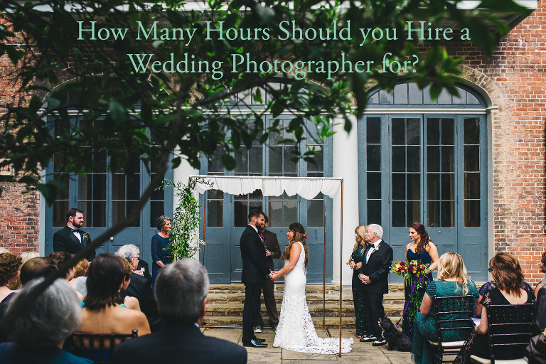 How Many Hours Should you Hire a Wedding Photographer for