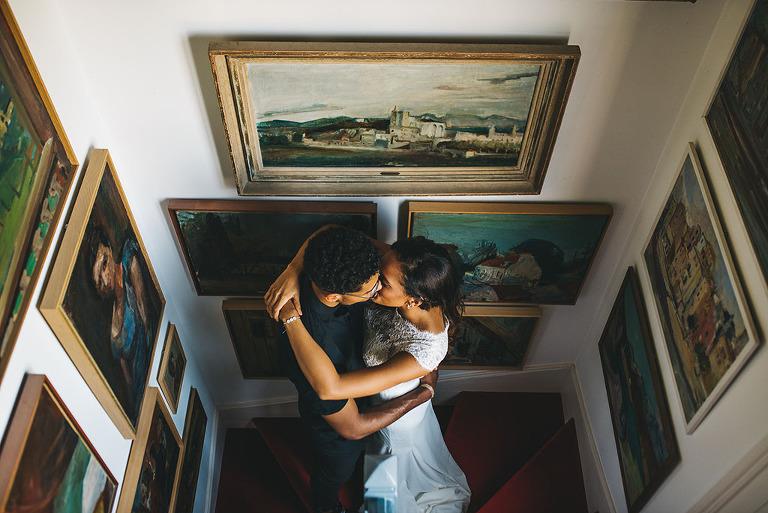 paris france destination wedding portrait